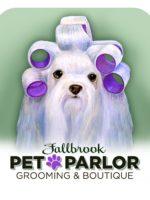 Fallbrook Pet Parlor Logo
